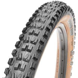 Maxxis Minion DHF tan sidewall bicycle tire